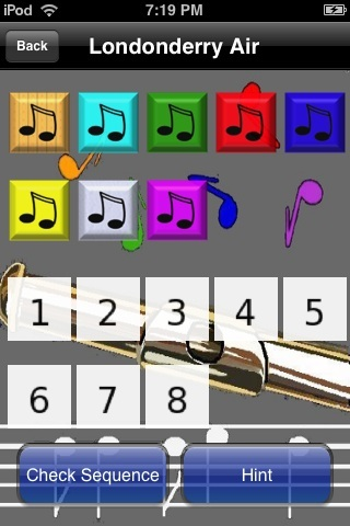 Screenshot iPuzzleSongsFree
