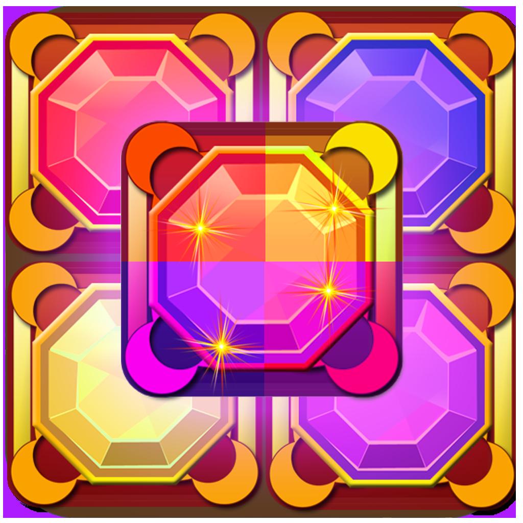 Jewel Miner Pro: Treasure Hunt Match 3 Game (For iPhone, iPad, iPod)